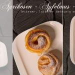 Aprikosen-Apfelmuss-Schnecken kleiner