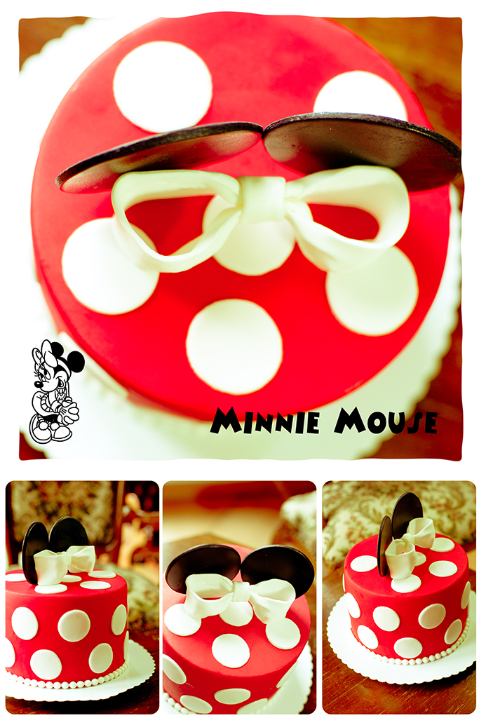 Collage Minnie Mouse Torte
