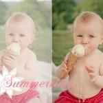 Lea und ihr Eis