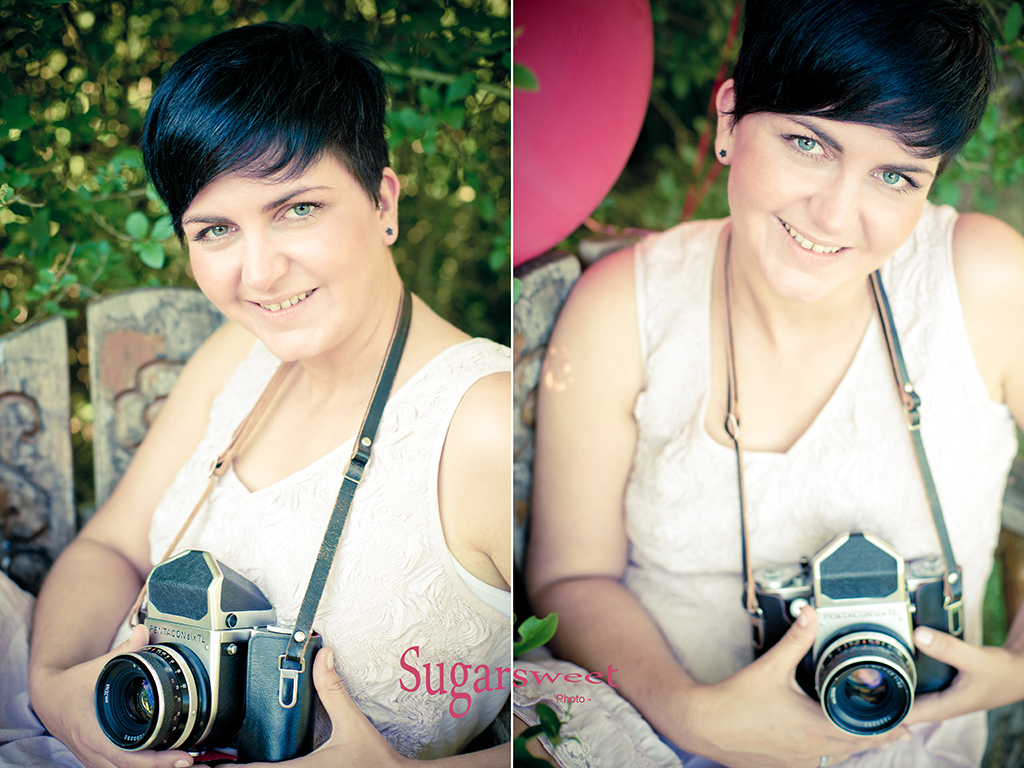 Portrait 2 x mal Kamera