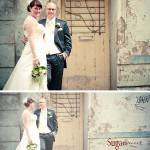 Tür Brautpaar